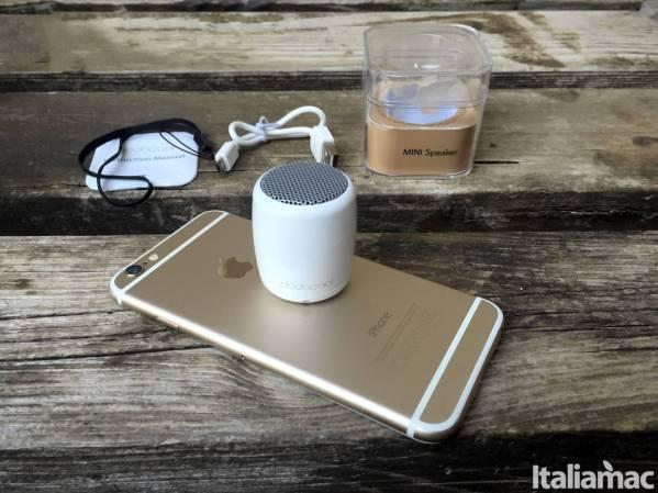 mini speaker dodocool global Mini Speaker Bluetooth Dodocool, la musica racchiusa in 4 centimetri