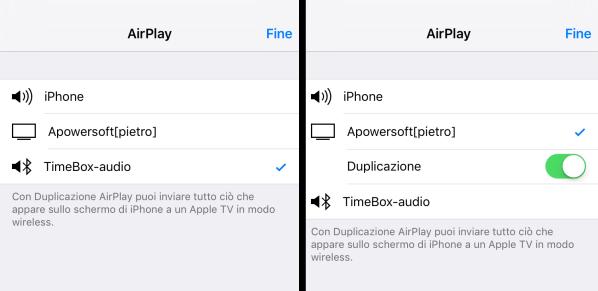 airplay AceThinker iPhone Screen Recorder: Permette di registrare lo schermo di iPhone in wireless su Mac e Windows