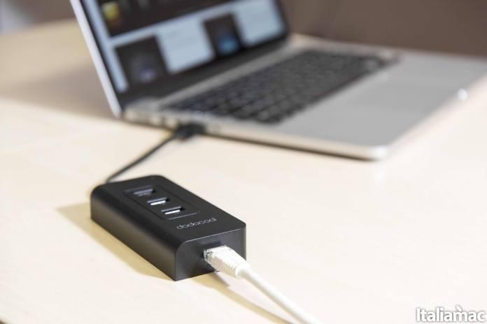 dodocool hub banner Dodocool Hub USB 3.0 con 3 porte USB e porta Ethernet da 5Gbps