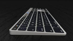 %name Sarà veramente così la Magic Keyboard con Touch Bar?
