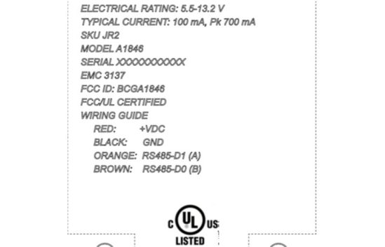 fccregulatorylabel 800x515 Apple richiede approvazione FCC per un dispositivo dotato di Bluetooth ed NFC