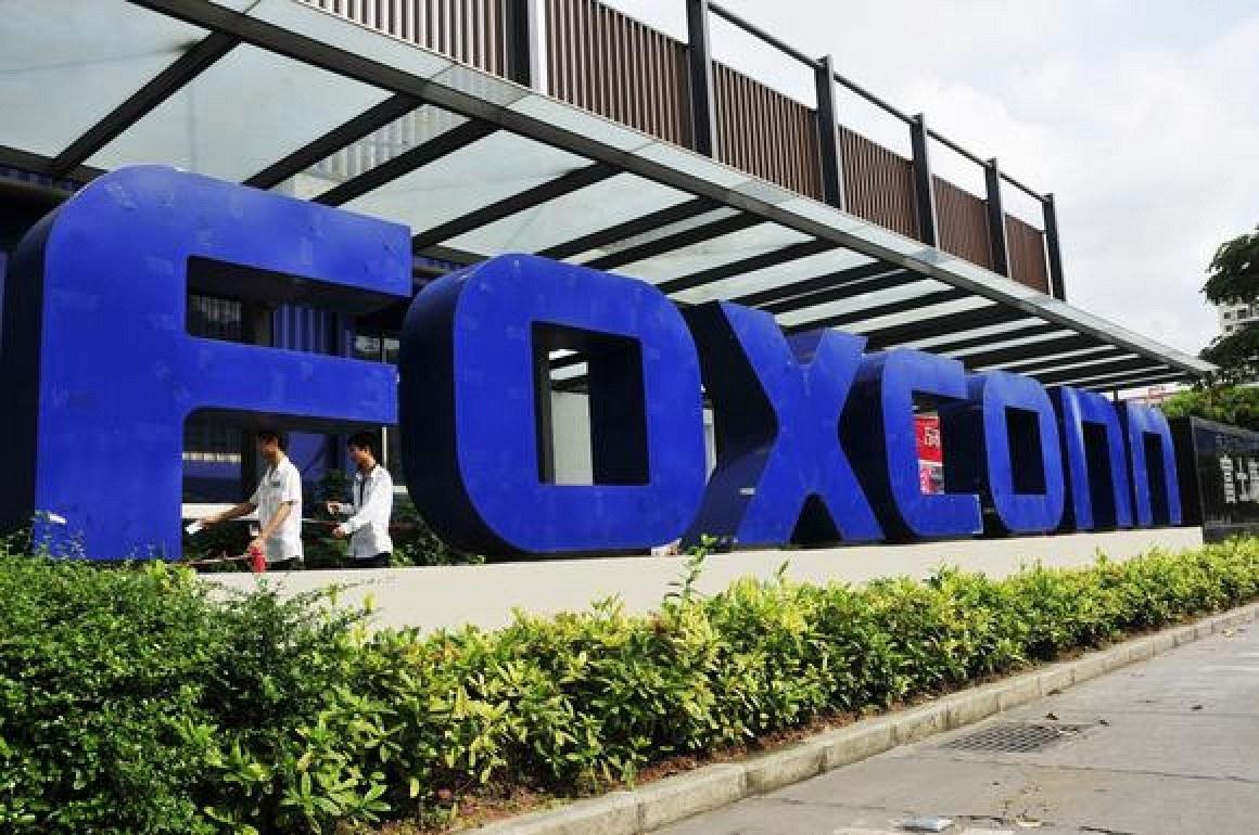 Foxconn pronta a investire 7 mld $ per un impianto in Usa