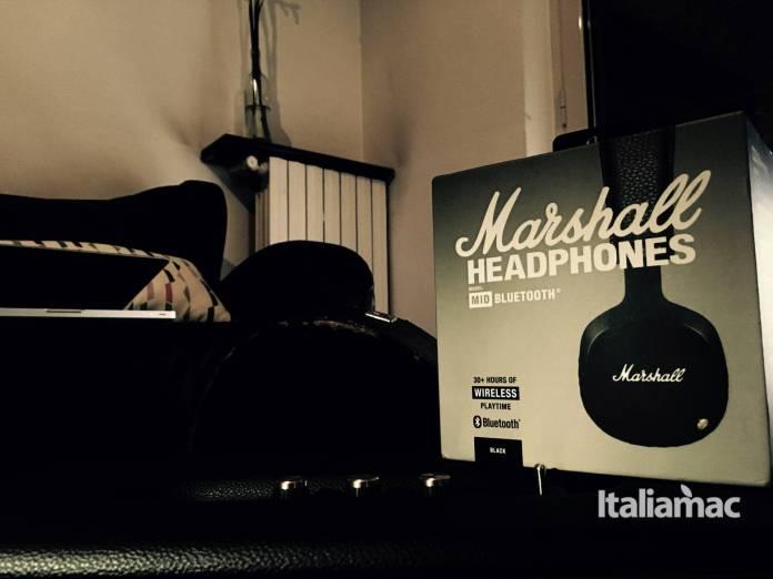 marshall mid bluetooth box Mid Bluetooth, le cuffie wireless firmate Marshall