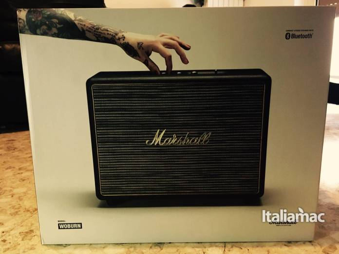 marshall woburn box Marshall Woburn: come trasformare un amplificatore in speaker bluetooth.