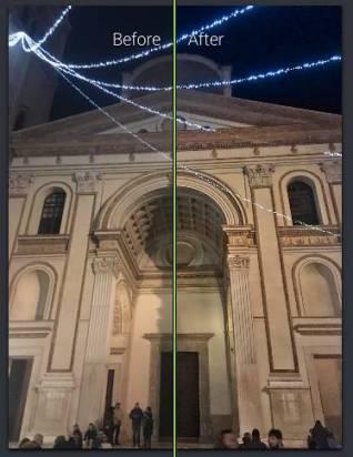 Immagine scattata con uno smartphone, dopo il passaggio con Photolemur la foto è più simile alla realtà; sono emersi alcuni dettagli poco visibili nell'originale.