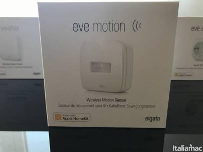%name Eve Motion: Il sensore di movimento che notifica i cambiamenti di stato