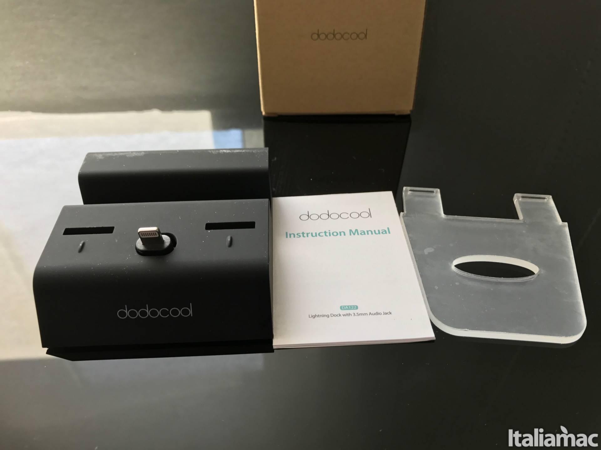 %name Il dock per iPhone con jack da 3.5mm di Dodocool