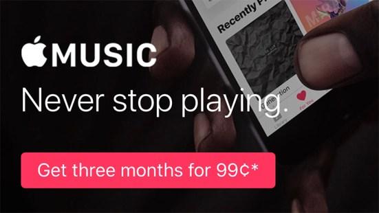 www.italiamac.it apple music 99 cents La prova di Apple Music potrebbe non essere più gratuita