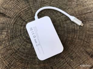 %name Lhub USB C 7 in 1 di Dodocool è il compagno quasi perfetto dei nuovi MacBook Pro