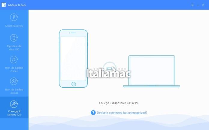 www.italiamac.it recupera dati ios imyfone d back imyfone d back review 6 Recupera i dati persi su iOS grazie ad iMyFone D Back