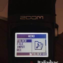 Zoom h2n folder