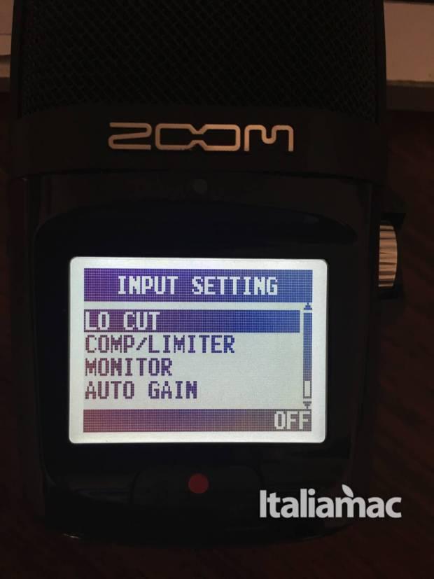 www.italiamac.it zoom h2n zoom h2n input setting 620x827 Zoom presenta H2n il microfono compatibile con OsX: la prova di Italiamac
