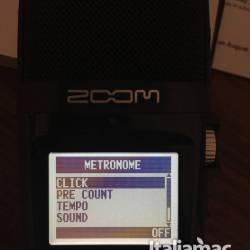 Zoom h2n metronomo