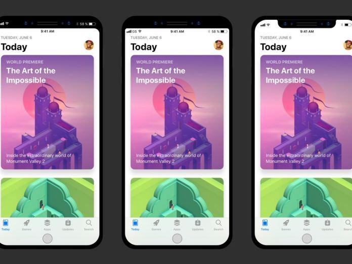 %name Ecco come le app più famose calzeranno nel display di iPhone 8