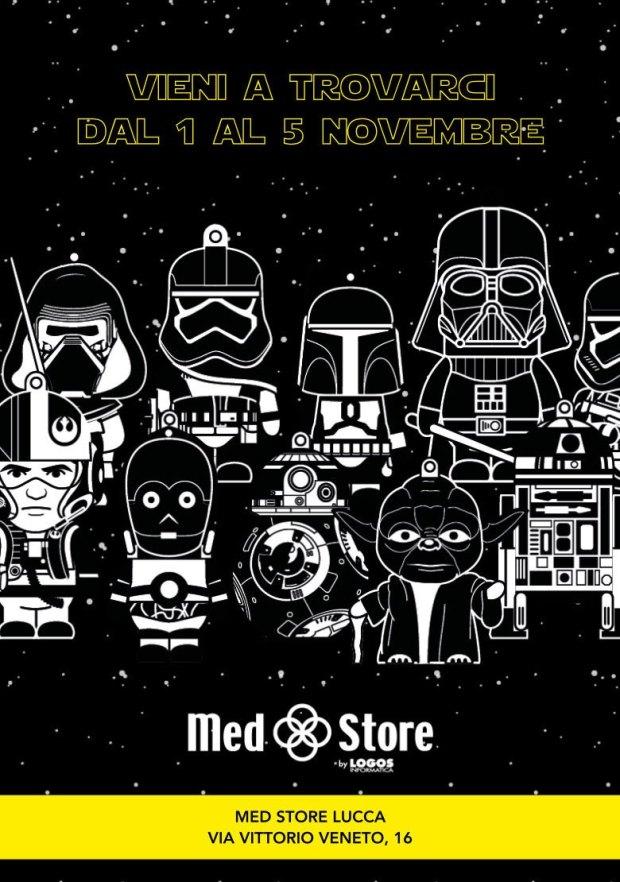 www.italiamac.it med store war 620x882 Med Store porta Siri a Lucca Comics... tra droidi, droni e gli eroi di Star Wars