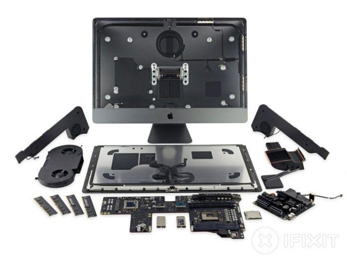 www.italiamac.it imac pro dettagli componenti imac pro ifixit 3 Smontato il nuovo iMac Pro: tutti i dettagli sui componenti