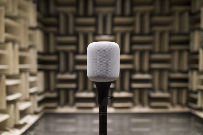italiamac chamber 768x512 Svelato il laboratorio usato da Apple per testare HomePod