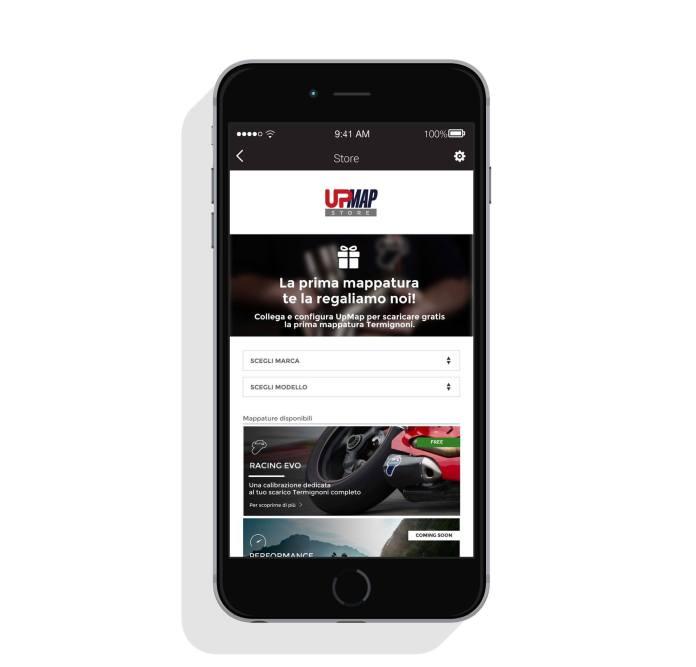 italiamac schermata store UpMap Termignoni potenza a portata di iPhone