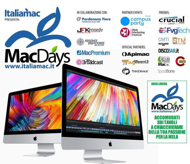 italiamac 600x300 macdays 2018 620x534 MacDays 2018 a Pordenone: Gli appassionati di iPhone e Mac si incontrano in fiera
