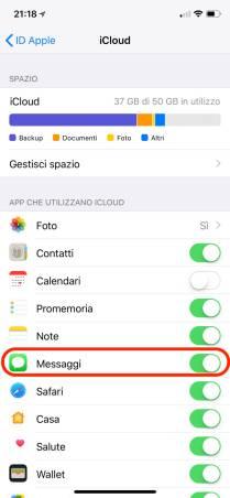 %name Messaggi su iCloud: Come funziona e come attivarla