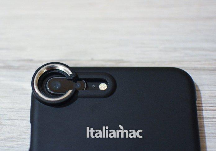 italiamac fisheye cover attacco lente iphone sandmarc Lenti Sandmarc per iPhone: Macro, Wide e Fisheye, tre lenti per tre prospettive diverse