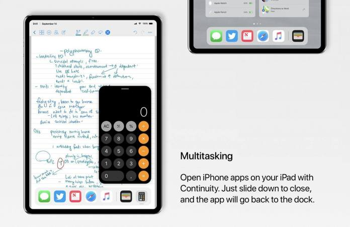 italiamac iphone app continuity ipad pro concept iPad Pro X: un concept del prossimo iPad basato su iPhone X