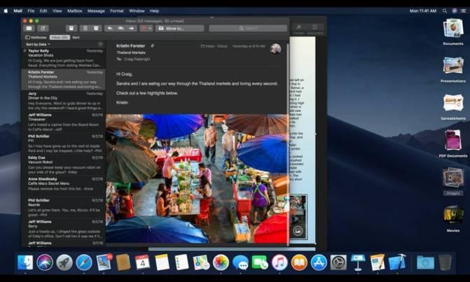 italiamac italiamac schermata 2018 06 04 alle 20.42.43 Presentato macOS 10.14 Mojave con Dark Mode