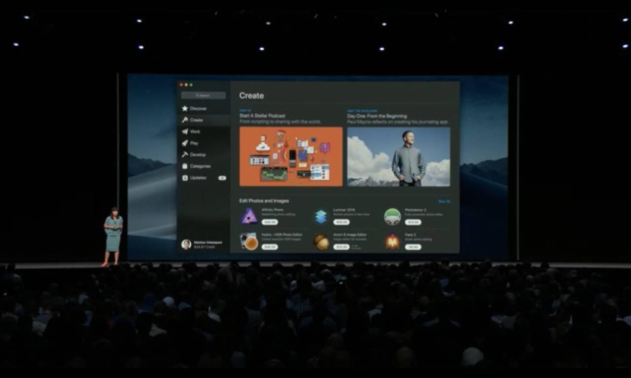 %name Presentato macOS 10.14 Mojave con Dark Mode