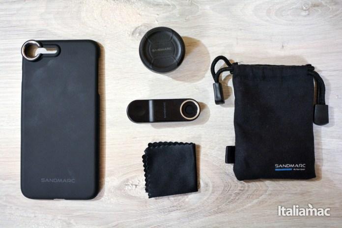 italiamac sandmarc packaging lenti iphone Lenti Sandmarc per iPhone: Macro, Wide e Fisheye, tre lenti per tre prospettive diverse