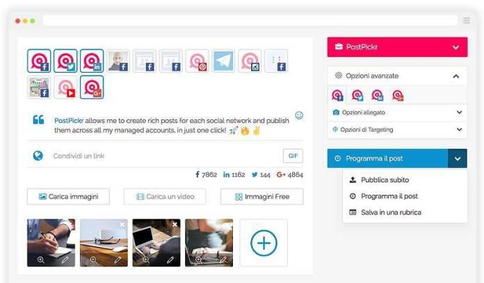 italiamac italiamac postpickr composer PostPickr: Per gestire tutti i social network in un unico posto