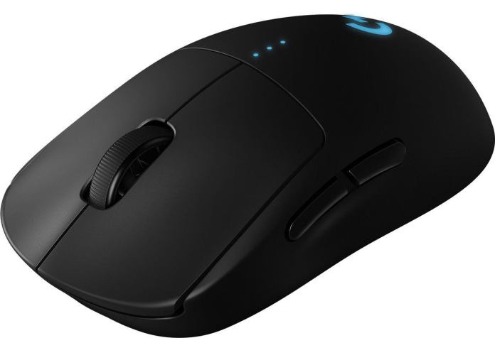 italiamac high resolution png pro wireless three quarter front Mouse Gaming PRO Wireless di Logitech G
