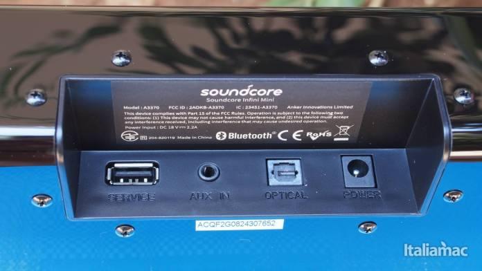 italiamac p7271379 Soundcore Infini: La soundbar mini di Anker