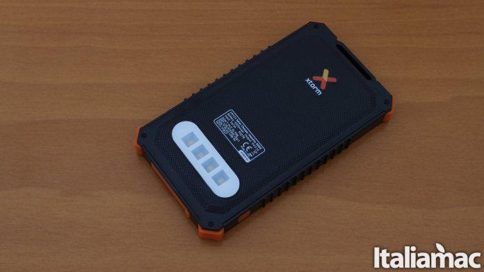 italiamac xtorm impulse back led Impulse: Il caricabatterie solare da 5.000mAh impermeabile di Xtorm