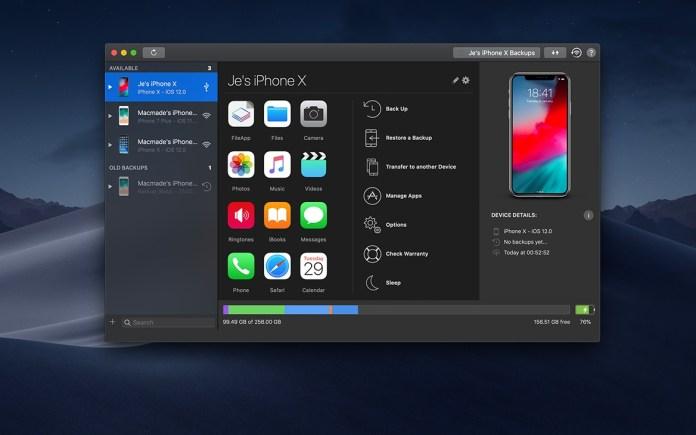 italiamac a8f8ef4d 7ab1 4520 93cd eaae0374dcf6 iMazing si aggiorna introducendo il supporto a macOS Mojave e iOS 12