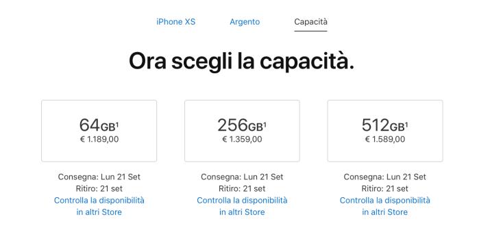 italiamac schermata 2018 09 14 alle 18.24.00 iPhone XS e XS Max un flop? Apple Watch invece un successo?