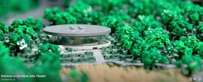 %name Realizzato modellino LEGO dellApple Park in scala 1:650