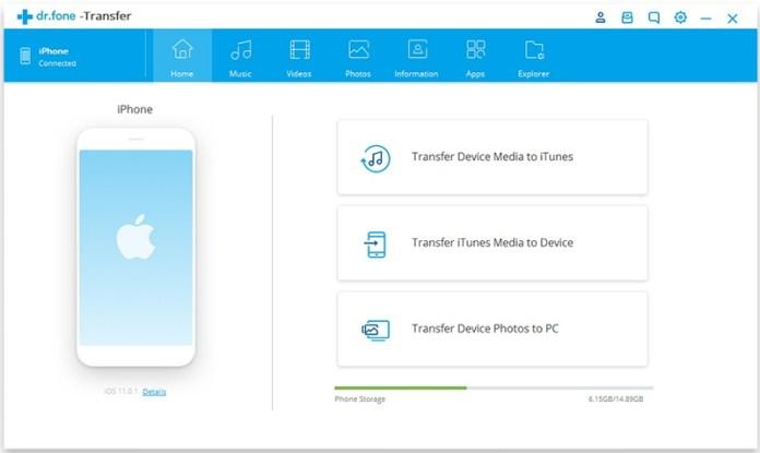 italiamac iphone transfer to itunes 01 Trasferisci tutti i file dal computer alliPhone XS (Max) con o senza iTunes