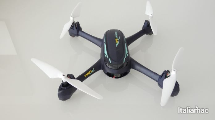 italiamac p1010091 Hubsan X4 Desire Pro: Drone con FPV controllabile da iPhone