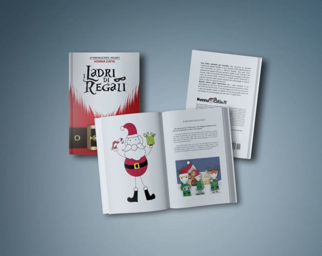 """italiamac libro i ladri di regali mockup 1024x815 In uscita """"I Ladri di Regali"""", il primo libro della friulana Catia Gobbo, un racconto natalizio per bambini"""