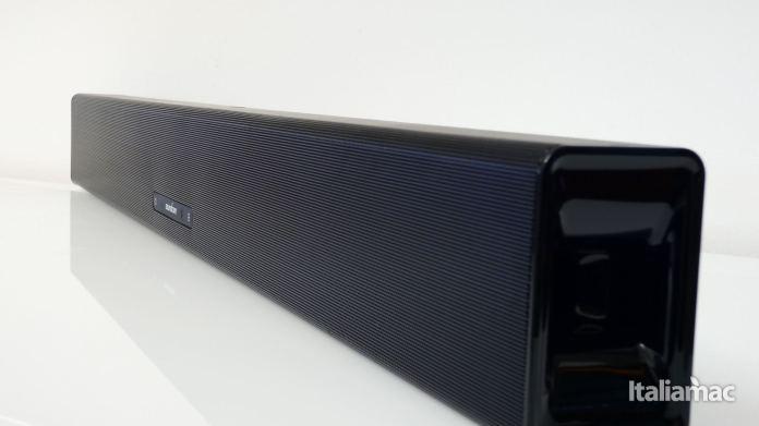 italiamac p1010304 Soundcore Infini la soundbar potente con subwoofer integrati