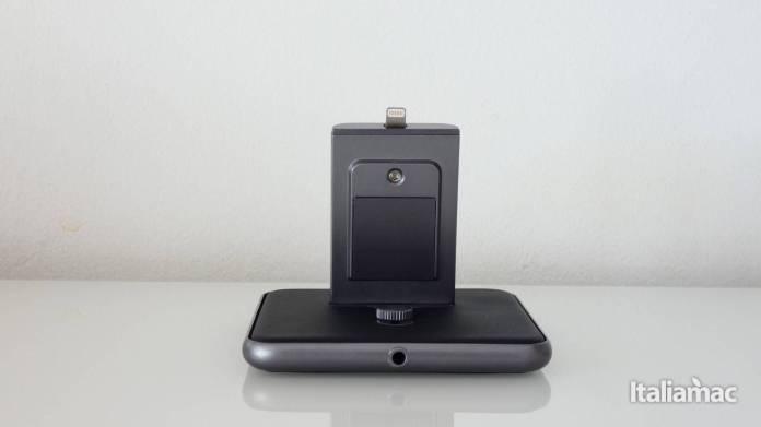 italiamac p1010416 HiRise Duet: Lelegante stand per caricare Apple Watch e iPhone di Twelve South