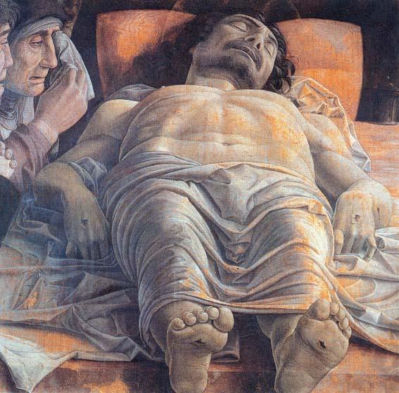 Cristo Morto di Andrea Mantegna