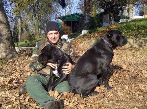 io e i miei cani corso