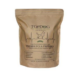 Cibo Naturale per cani con ingredienti disidratati Top Dog