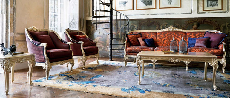 Silik Classic Furniture Italian Design Interiors