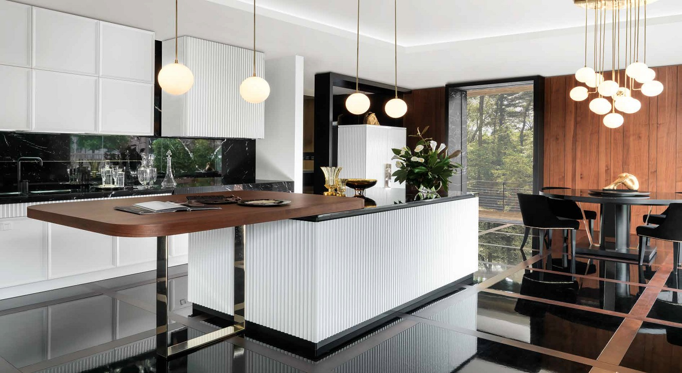 Art Deco Italian Kitchens - Soul Deco on Modern Kitchens  id=79903