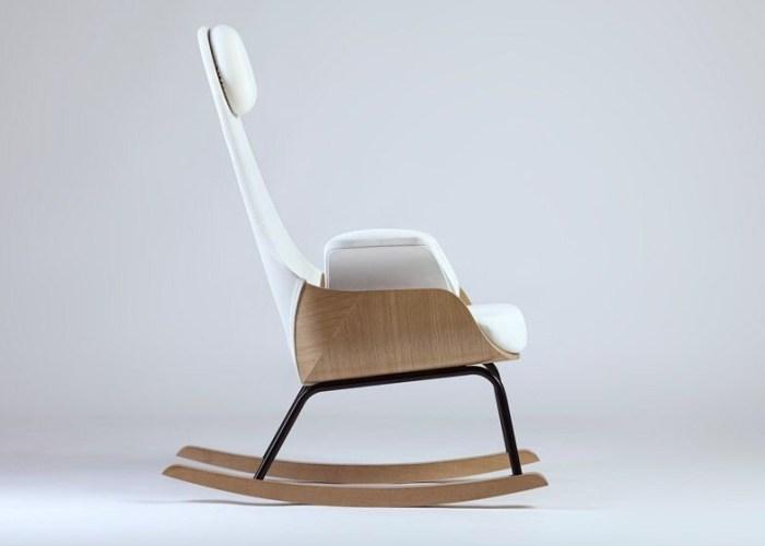 Rocking chair redesign by Alegre Design