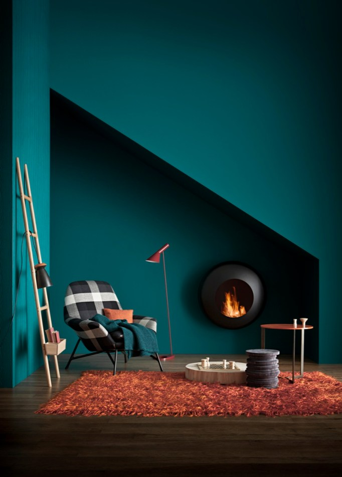 Teal paint interior trend | ITALIANBARK interior design blog