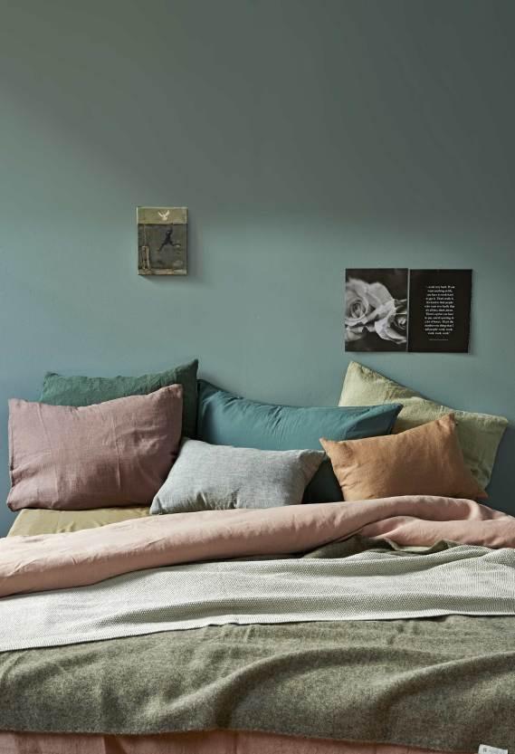 Green Color Palette for Bedroom