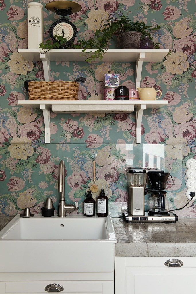 Floral Home Decor Kitchen 2